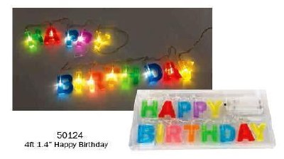 Birthday Light String