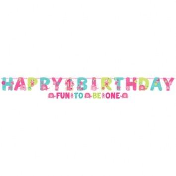 1st Birthday Wild Banner