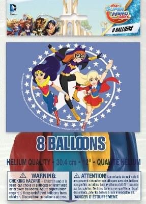 Dc Super Hero Latex Balloons