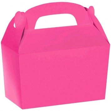 Treat Box Hot Pink