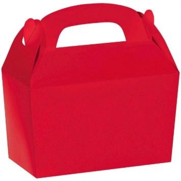 Treat Box Red