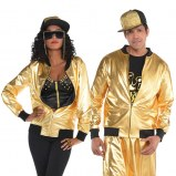 Hip Hop Jacket Gold