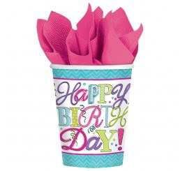 Sweet Birthday Paper Cups