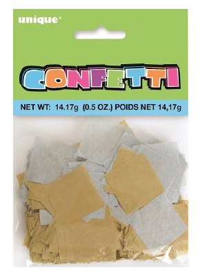 Tissue Confetti Gold/silver