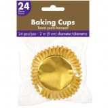 Baking Cups Gold