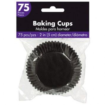 Baking Cups Black