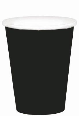 Black 9oz Paper Cups