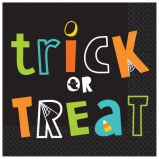 Trick Or Treat Lunch Napkins