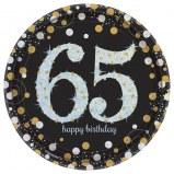 65th Dessert Plates