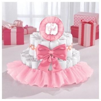 Diaper Cake Kit Pink