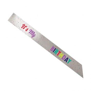 Its My Birthday Sash