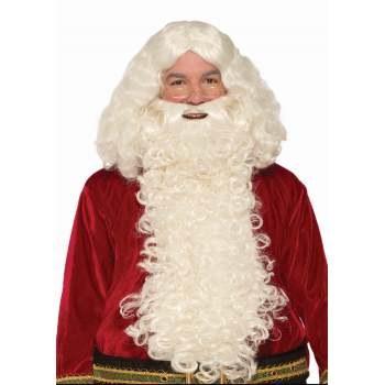 Deluxe Long Santa Wig & Beard