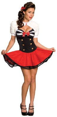 Naval Pin Up Costume