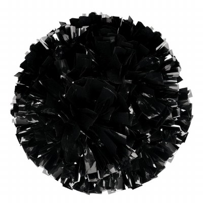 Pom Pom Black Metallic