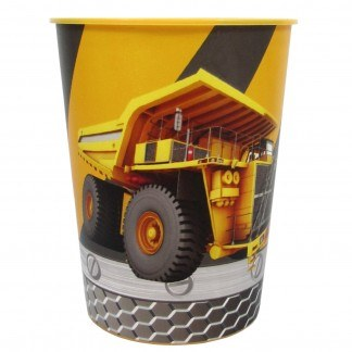 Construction Zone Plastic Cup