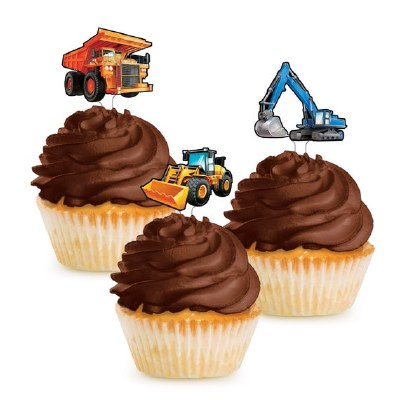 Construction Cake Toppers