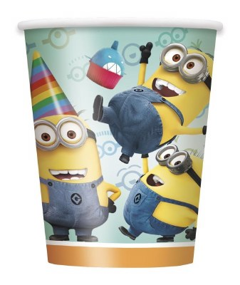 Despicable Me Paper Cups