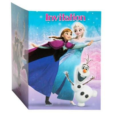 Frozen Invitations