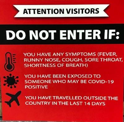 Social Distance Do Not Enter