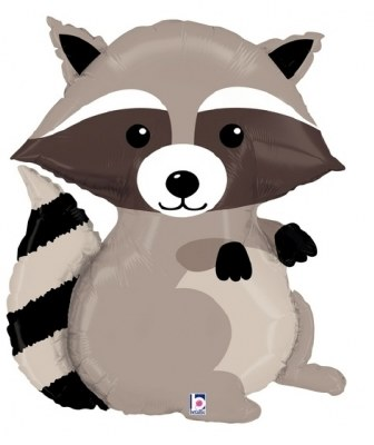 Raccoon Supershape Foil