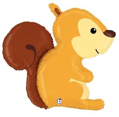 Squirrel Supershape Foil