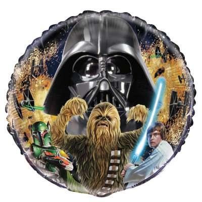Star Wars 18in Foil