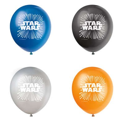 Star Wars Latex Balloons