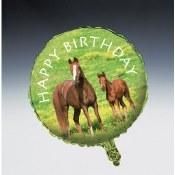 Horse 18in Foil