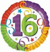16th Birthday Foil