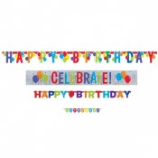 Birthday Banner Set 4 In 1
