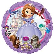 Sofia The First Foil Balloon