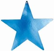 Star Cutout 9in Royal