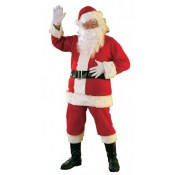 Santa Suit Flannel Lg