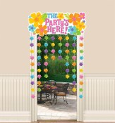 Party Is Here Door Curtain