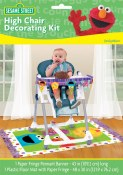 Sesame Hi Chair Decor Kit
