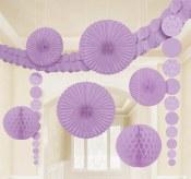 Damask Decor Kit Lilac