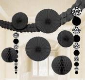 Damask Decor Kit Black