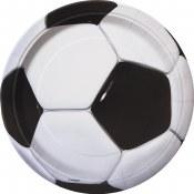 Soccer Dessert Plate