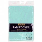 Robins Egg Blue Round Tablecov