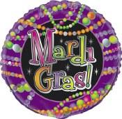 Mardi Gras 18 In Foil