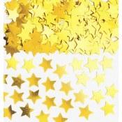 Star Confetti Gold