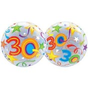 30th Bubble Balloon