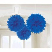 Fluffy Decor Balls Royal