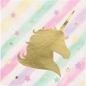 Unicorn Sparkle Bev Napkins