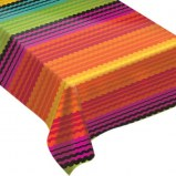 Fiesta Flannel Back Tablecover