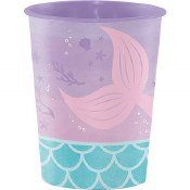 Mermaid Plastic Cup