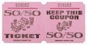 50/50 Ticket Roll