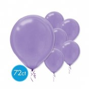 Purple 12in Latex 72ct
