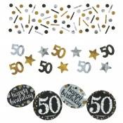 50th Sparkling Confetti