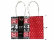 Christmas Gift Bag 4pk